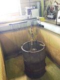 アルミ熱処理用の水槽