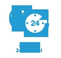土日・夜間24時間対応!